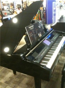Yamaha Clarinova Digital Grand Piano