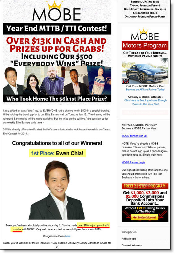 MOBE Contest